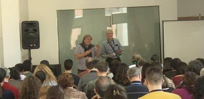Lindsay Brown, en un seminario sobre las tendencias y desafíos del evangelio en Europa. / Protestante Digital