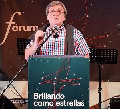 Lindsay Brown, durante la primera plenaria en Fórum GBU 2018. / Carlos Fumero Jensen