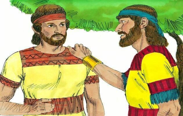 David y Jonatan. / Free ible Images (CC),