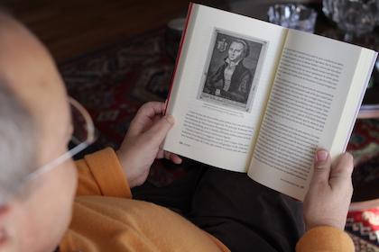 Para Gelonch es imprescindible conocer la figura de Lutero para comprender la Europa actual. / Jonatán Soriano