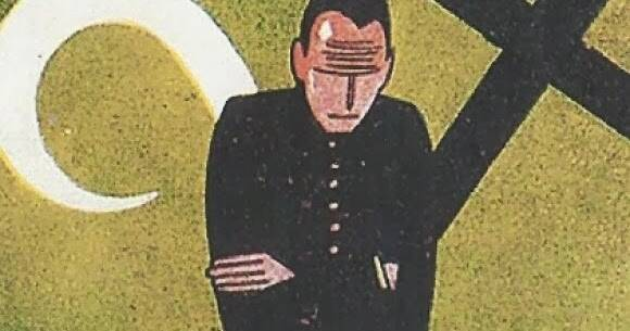 Imagen de la cubierta de San Manuel Bueno, mártir.,