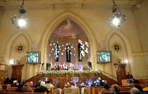 Iglesia evangélica de Kasr El Dobara, en El Cairo. / Egypt Scene CC,