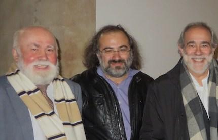 Andavert con Gabino Fernández y Alfredo Pérez Alencart. / J. Alencar