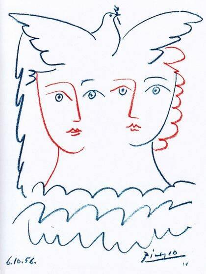 Paz, de Pablo Picasso.