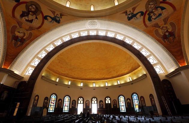 La nueva Catedral copta. / Portavoz iglesia copta, twitter,