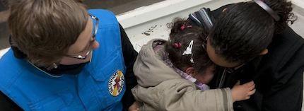 La misión ayuda a miles de personas en todo el país. / Bahnhofsmission