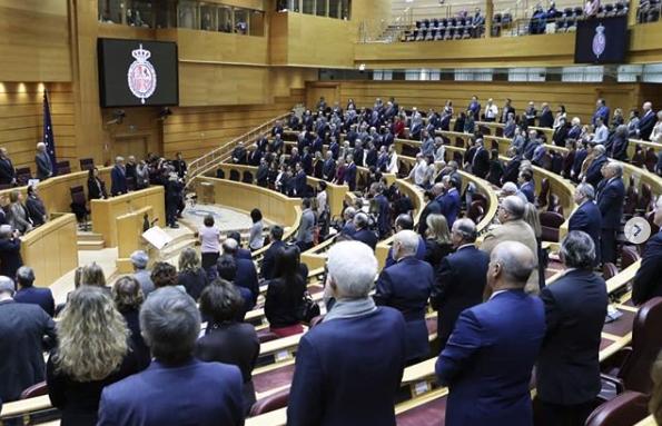 Pleno en el Senado, en diciembre de 2018. / Senado España,