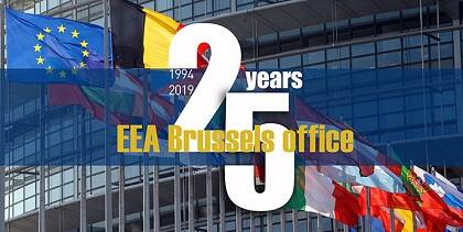 La oficina de la EEA en Bruselas cumple 25 años. / EEA