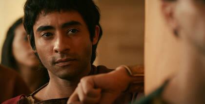 Ahmed Amin Ben Saad interpreta a Agustín en el largometraje. / Augustinefilm