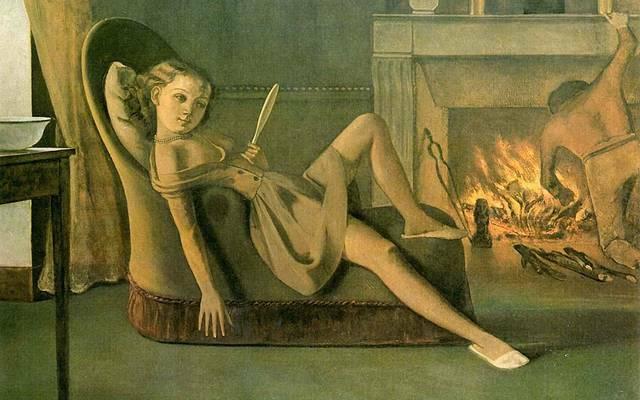 Una de las obras de Balthus,Balthus, pedofilia