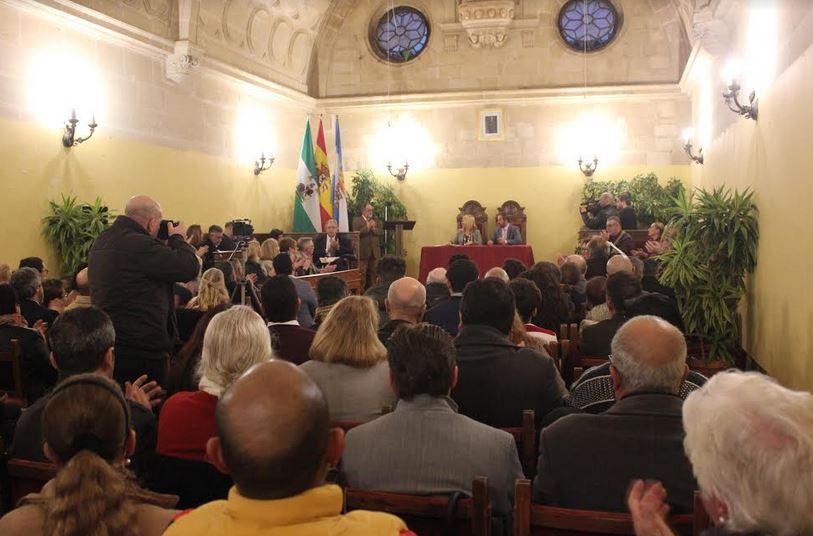 Acto de firma del convenio de colaboración con el Ayuntamiento de Jerez y la Fraternidad de Iglesias Evangélicas de Jerez. / Fraternidad de Iglesias Evangélicas de Jerez,