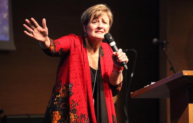 Fabiana Manzewitsch, conferenciante de la conferencia anual de Aglow. / MGala,
