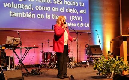 Ana Giménez, presidenta de Aglow. / MGala