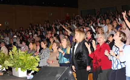 Más de 750 mujeres asistieron al evento. / MGala