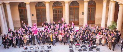 Presentación de la campaña #yoelijo, hoy en Valencia.