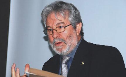 Roberto Velert en 2015, durante un encuentro de Adece en Madrid. / Héctor J. Rivas