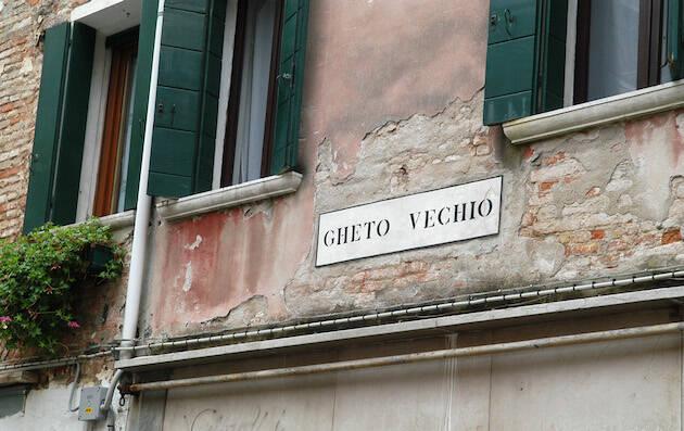 El gueto de Venecia, un rincón con mucha historia. /Andreas56, CC 3.0 Wikimedia Commons,