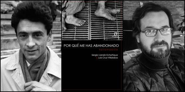 Larraín, portada del libro y Cruz-Villalobos.,