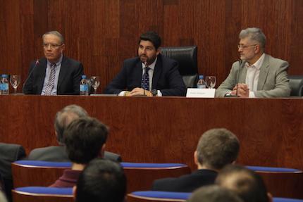 Jaume Llenas, López Miras y Pedro Tarquis. / J. Soriano