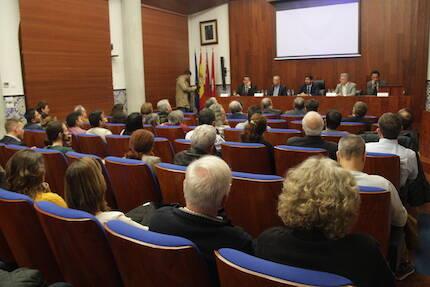 El Salón de Grados de la Facultad de Derecho de la Universidad de Murcia. / J.Soriano