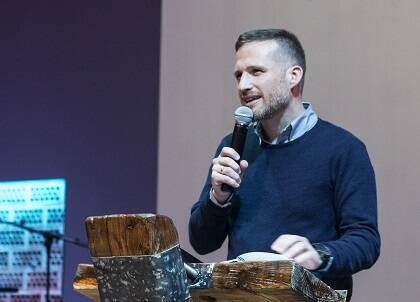 Juan Carlos Parra introdujo el día con una reflexión bíblica. / D. Parra