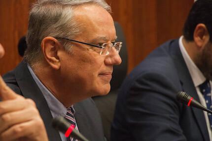 Jaume Llenas, durante su intervención. / David Parra