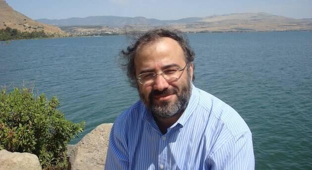 Alfredo Pérez Alencart, en el lago Tiberíades en 2014. / Jacqueline Alencar,