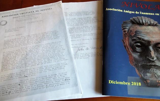 Copia de la carta de Juan Mackay a Unamuno (Archivo Casa Muso Unamuno en Salamanca). / Jacqueline Alencar,