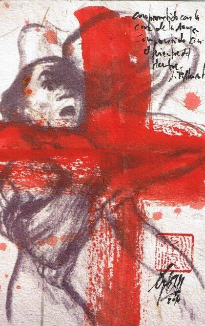 Soportar tras la Cruz, de Miguel Elías.