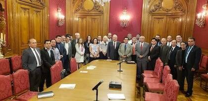 Segunda reunión de confraternice con la presidencia de la República.