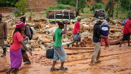 Según la ONU, el ciclón ha afectado a más de 1,7 millones de personas en diferentes países. / UEBE