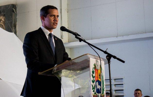El presidente de la Asamblea Nacional de Venezuela, Juan Guaidó. / @Twitter jguaido,