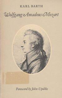 Portada del Mozart de Barth con prólogo de Updike.
