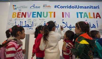 Los menores serán inscritos en la escuela. /MediterraneanHope