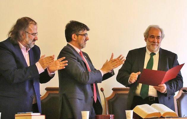 A.P. Alencart, Rubén Lugilde y Alfredo Pérez Alencart. / MGala,