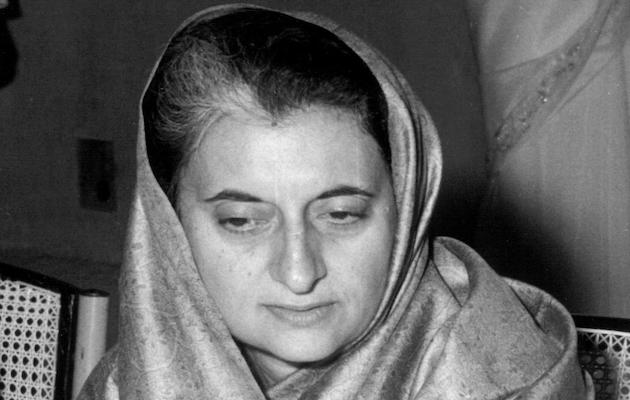 Indira Gandhi. / Wikimedia Commons,