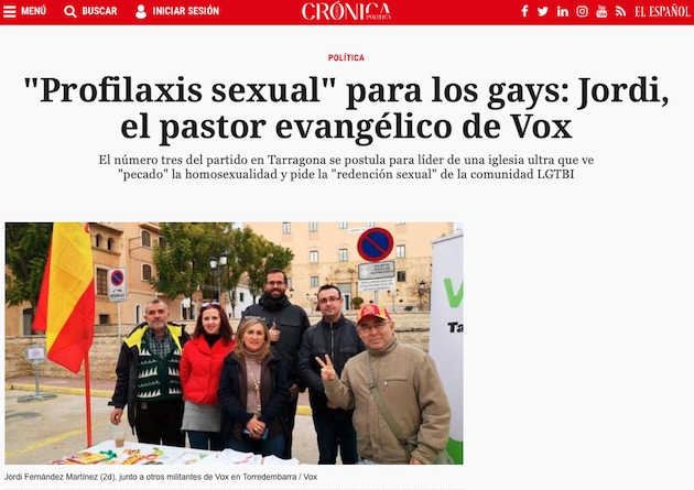 El reportaje de Crónica Global, medio asociado a El Español.,