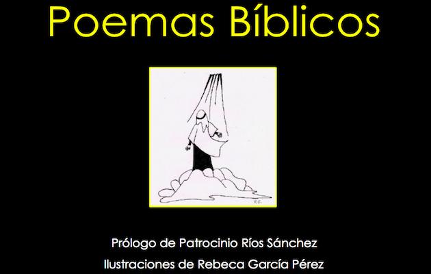 Imagen de la portado de Poemas bíblicos, de Máximo García.,