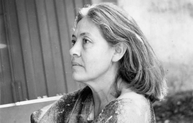 La poetisa brasileña Adélia Prado.,
