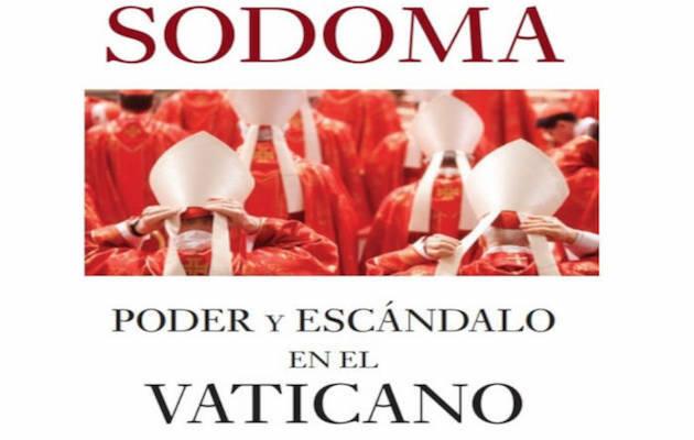 Portada de Sodoma, de Frederic Martel.,