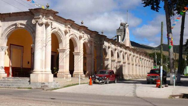 Palacio Municipal de Tejupan Oaxaca.,
