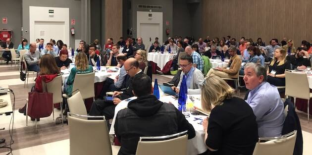 Asistentes al encuentro Iglesia Saludable, este 1 de mayo en Guadalajara. / Daniel Hofkamp,