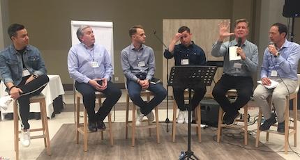 Panel final con reflexiones sobre el trabajo en equipo. / D.Hofkamp