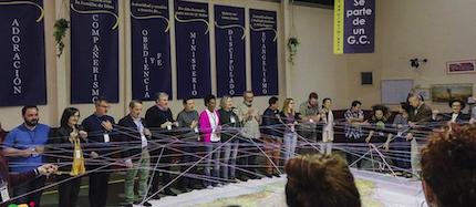 Momentos finales de oración y compromiso por la misión en España. / AEE