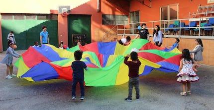 También los niños tuvieron una actividad especial. / BNLugo