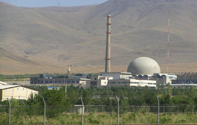 El reactor pesado IR-40, en la ciudad iraní de Arak, fotografiado en 2012. / Wikimedia Commons,