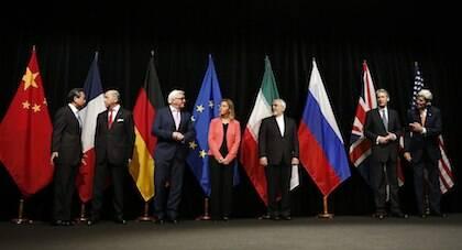 Escenificación del acuerdo nuclear en Viena, en julio de 2015. / Wikimedia Commons