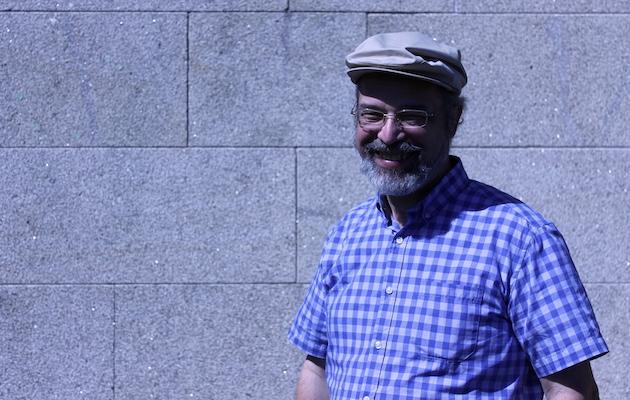 Frantz de Santiago, profesor de lengua hebrea. / Marina Acuña,