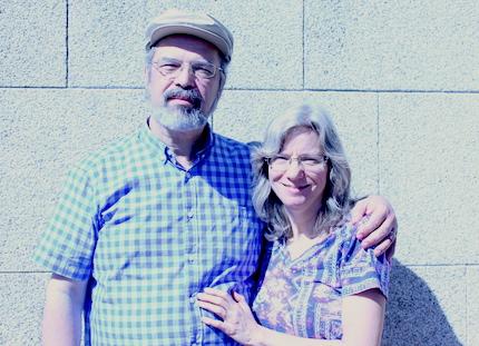 Frantz junto a su esposa, Sharon. / Marina Acuña