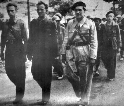Miembros de las Brigadas Internacionales en la zona de Guadalajara, en 1937. / Wikimedia Commons